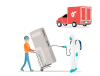 safe delivery and pickup of rented furniture and home appliances
