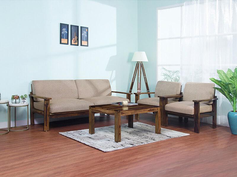Rent Athena Living Room Furniture Set Online - Furniture Rental